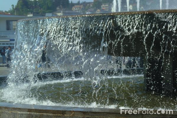 Picture of Fountain, Lucerne, Switzerland - Free Pictures - FreeFoto.com