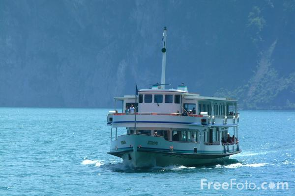 Picture of MV Europa, Lake Lucerne Ferry Service, Switzerland - Free Pictures - FreeFoto.com