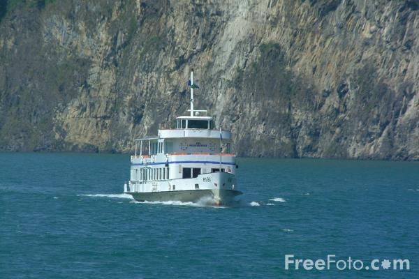 Picture of MV Rigi, Lake Lucerne Ferry Service, Switzerland - Free Pictures - FreeFoto.com