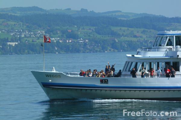 Picture of MV Weggis, Lake Lucerne Ferry Service, Switzerland - Free Pictures - FreeFoto.com