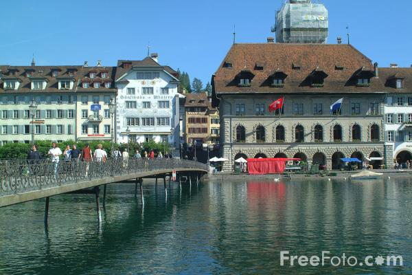 Picture of River Ruess, Lucerne, Switzerland - Free Pictures - FreeFoto.com