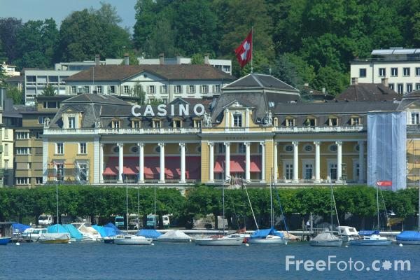 Picture of Casino, Lake Lucerne, Switzerland / Casino, Vierwaldstättersee, Die Schweiz - Free Pictures - FreeFoto.com