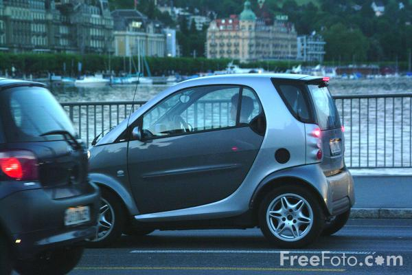 Picture of Smart Car, Lucerne, Switzerland - Free Pictures - FreeFoto.com