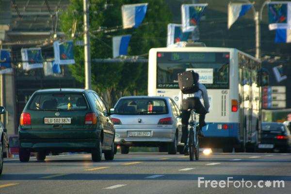 Picture of Traffic, Lucerne, Switzerland - Free Pictures - FreeFoto.com