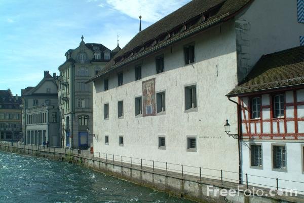 Picture of Historic Museum, Lucerne, Switzerland - Free Pictures - FreeFoto.com
