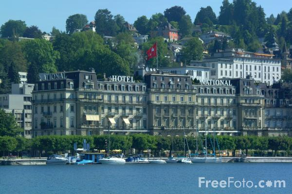 Picture of Hotel National, Lucerne, Switzerland - Free Pictures - FreeFoto.com