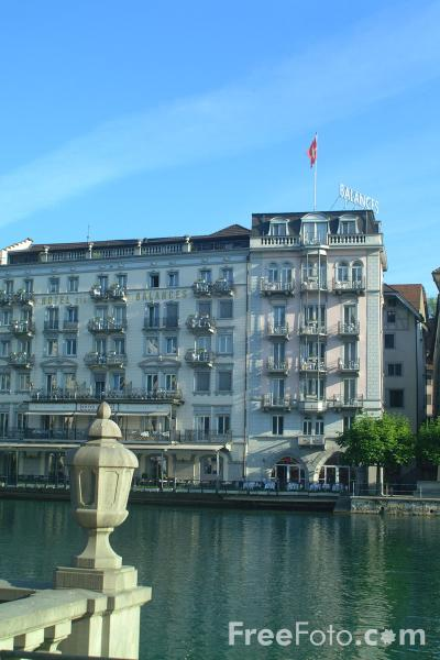 Picture of Balances Hotel, Lucerne, Switzerland - Free Pictures - FreeFoto.com