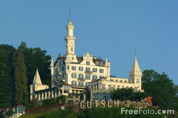 Picture of Gutsch Hotel, Lucerne, Switzerland - Free Pictures - FreeFoto.com