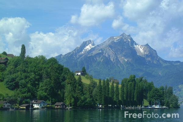 Picture of Burgenstock, Lake Lucerne, Switzerland - Free Pictures - FreeFoto.com