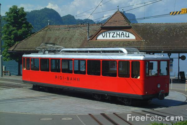 Picture of Rigi Bahnenne, Vitznau, Lake Lucerne, Switzerland - Free Pictures - FreeFoto.com