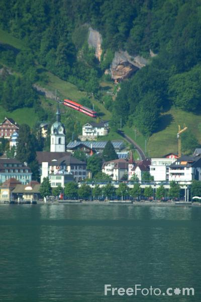 Picture of Vitznau, Lake Lucerne, Switzerland - Free Pictures - FreeFoto.com