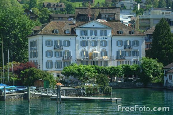 Picture of Weggis, Lake Lucerne, Switzerland - Free Pictures - FreeFoto.com
