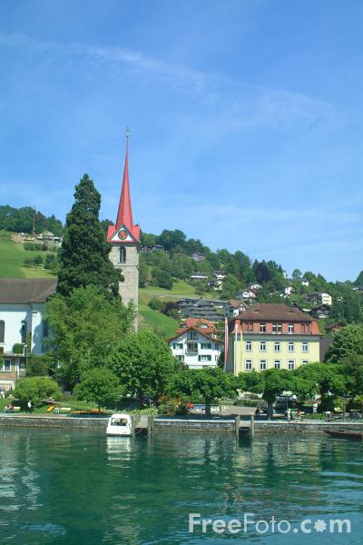 Weggis Switzerland  city photo : Weggis, Lake Lucerne, Switzerland pictures, free use image, 1303 24 56 ...