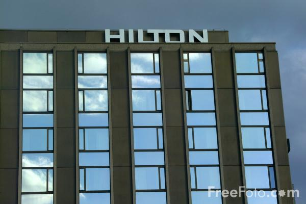 Picture of Hilton Hotel, Basel, Switzerland - Free Pictures - FreeFoto.com