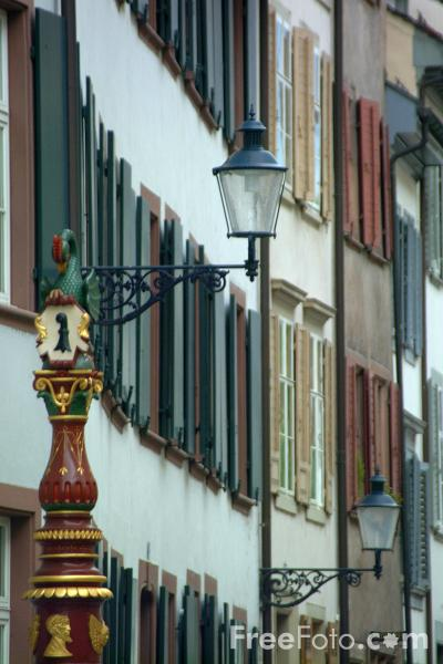 Picture of The Old Town, Basel, Switzerland - Free Pictures - FreeFoto.com