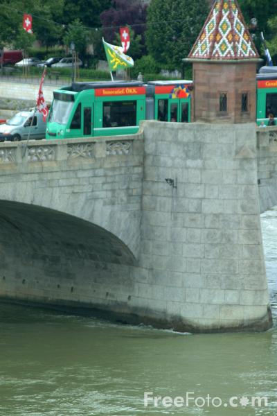 Picture of River Rhine, Basel, Switzerland - Free Pictures - FreeFoto.com