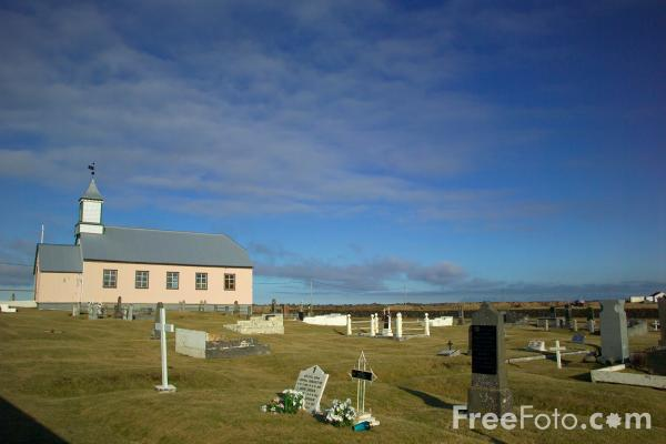 Picture of Gardur Church, Iceland - Free Pictures - FreeFoto.com