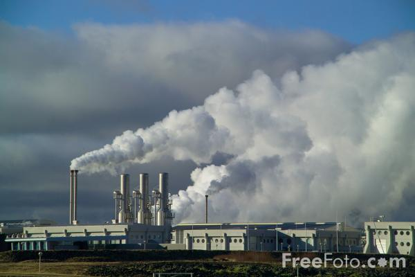 Picture of Svartsengi Power Plant , Iceland. - Free Pictures - FreeFoto.com