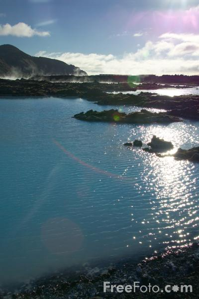 Picture of The Blue Lagoon, Iceland. - Free Pictures - FreeFoto.com