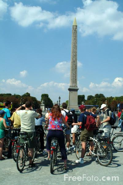 Picture of Place de la Concorde, Paris, France - Free Pictures - FreeFoto.com