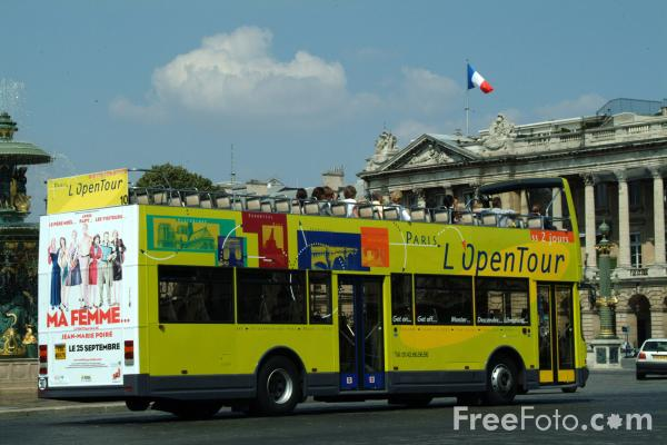sightseeing bus paris france pictures free use image 1351 15 1 by. Black Bedroom Furniture Sets. Home Design Ideas
