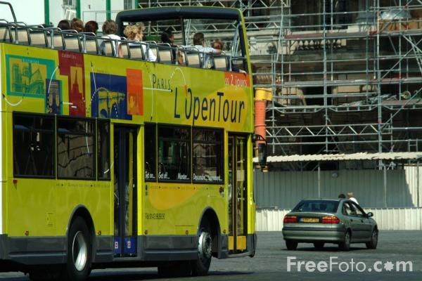 sightseeing bus paris france pictures free use image 1351 15 3 by. Black Bedroom Furniture Sets. Home Design Ideas