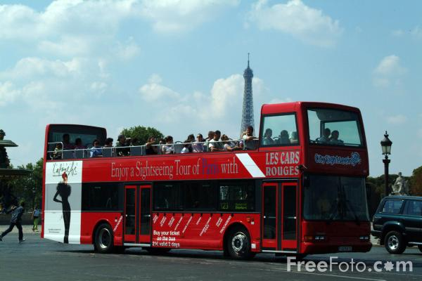sightseeing bus paris france pictures free use image 1351 15 5 by. Black Bedroom Furniture Sets. Home Design Ideas