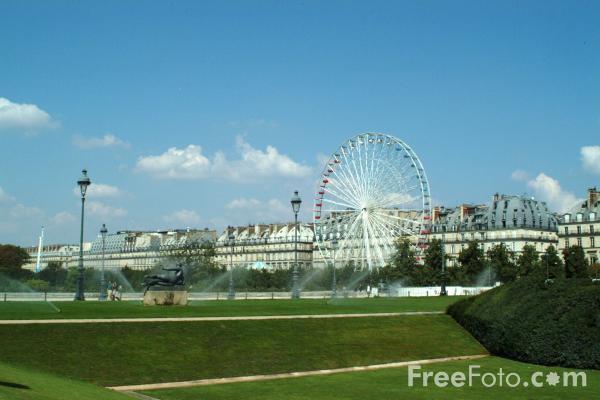 Picture of Jardin des Tuileries - Tuileries Gardens, Paris, France - Free Pictures - FreeFoto.com