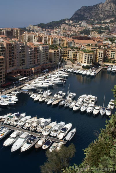 Picture of Fontvieille Harbour, Monaco - Free Pictures - FreeFoto.com