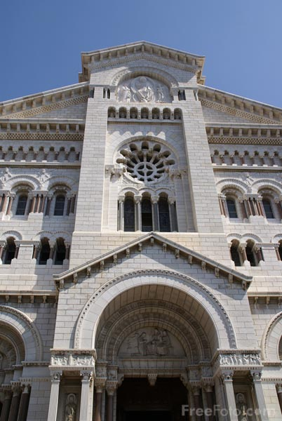Picture of Monaco Cathedral Cathedrale de Monaco - Free Pictures - FreeFoto.com