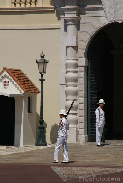 Picture of Changing of the guard Monaco - Free Pictures - FreeFoto.com