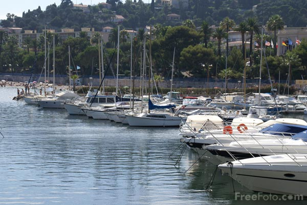 Picture of Marina, Beaulieu sur Mer - Free Pictures - FreeFoto.com