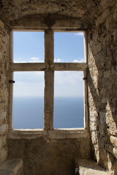 Picture of Window on the Mediterranean - Free Pictures - FreeFoto.com
