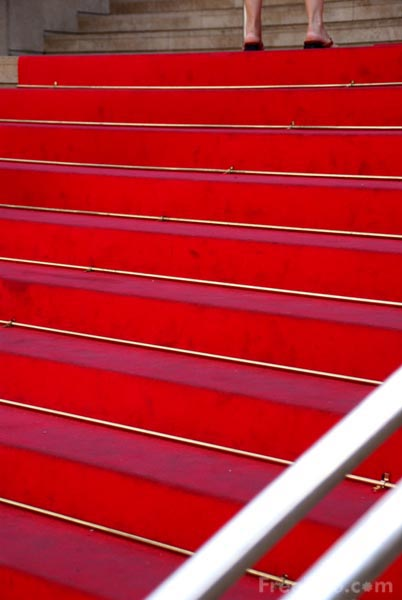 Picture of Red Carpet, Cannes - Free Pictures - FreeFoto.com