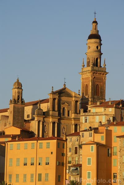 Picture of Basilique Saint-Michel, Menton - Free Pictures - FreeFoto.com