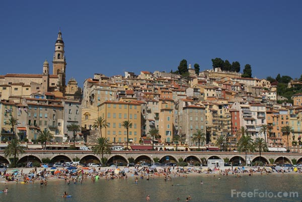 Picture of Menton - Free Pictures - FreeFoto.com