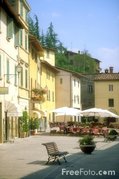 Gaiole, Tuscany, Italy pictures, free use image, 14-05-59 ...