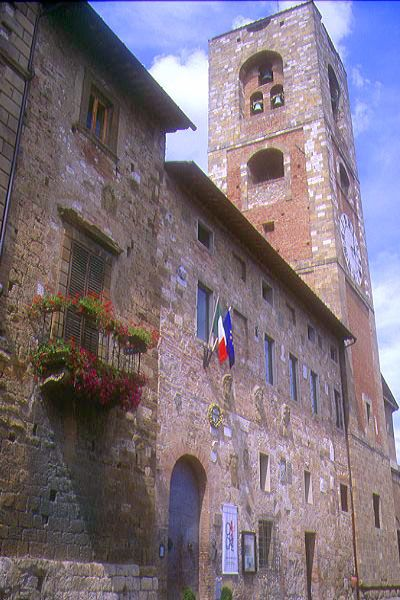 Picture of Santa Maria in Canonica, Colle Alta, Tuscany, Italy - Free Pictures - FreeFoto.com