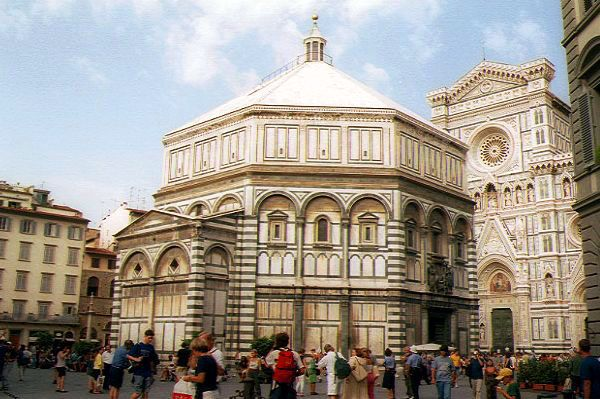 Picture of Baptistry, Florence, Italy - Free Pictures - FreeFoto.com