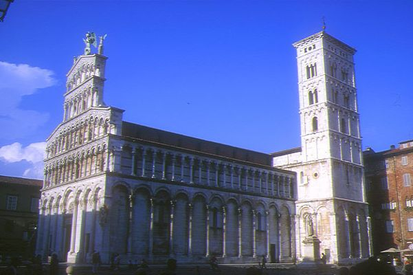 Picture of San Michele in Foro, Lucca, Tuscany, Italy - Free Pictures - FreeFoto.com