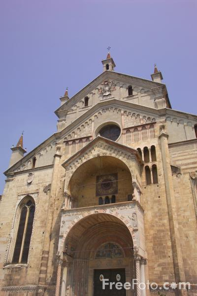 Picture of The Cathedral of Verona, Verona, Italy - Free Pictures - FreeFoto.com