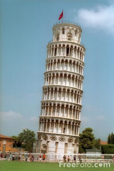 The Leaning Tower of Pisa, Tuscany, Italy pictures, free use image ...