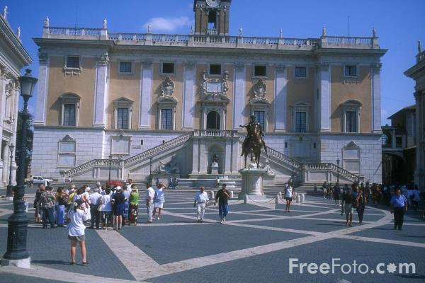 Picture of The Capitol, Rome - Free Pictures - FreeFoto.com