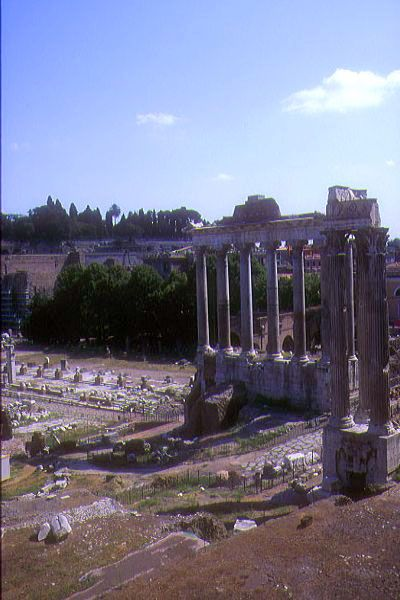role of the roman forum
