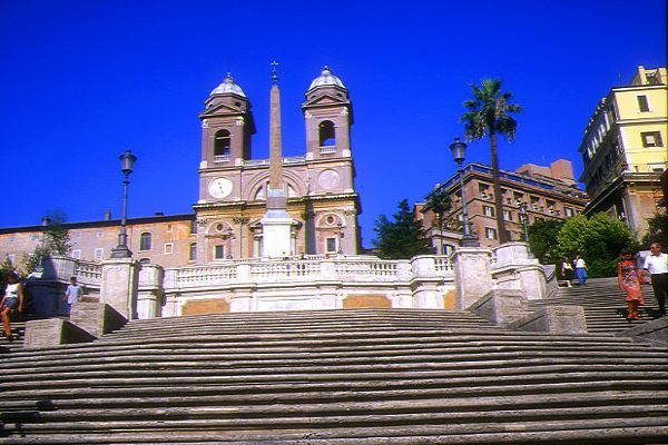 Picture of The Spanish Steps, Rome, - Free Pictures - FreeFoto.com
