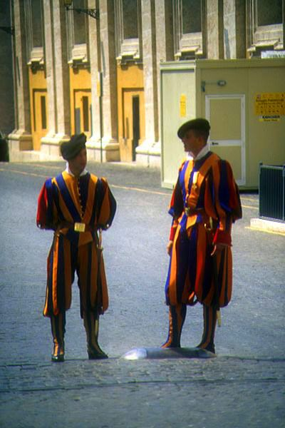 Picture of The Vatican Army, Rome, Italy - Free Pictures - FreeFoto.com