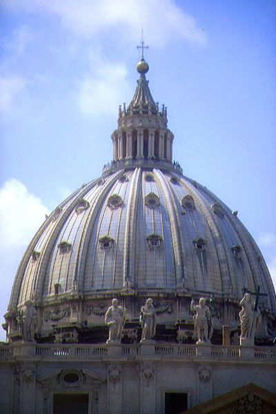Picture of St. Peter's Basilica, Rome, Italy - Free Pictures - FreeFoto.com