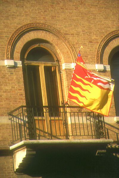 Picture of Contrada Flag, Siena, Tuscany, Italy - Free Pictures - FreeFoto.com