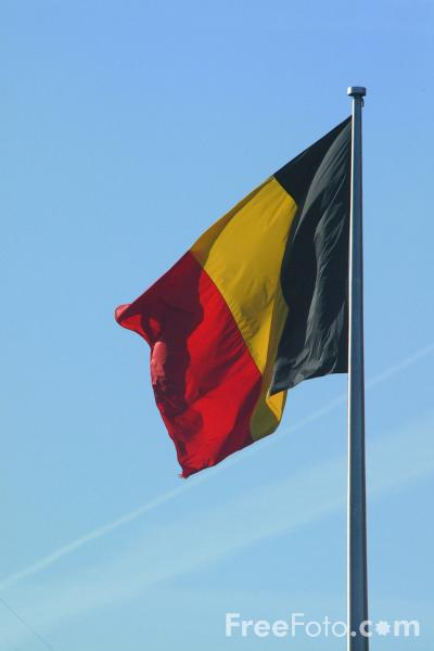 Picture of Belgium Flag - Free Pictures - FreeFoto.com