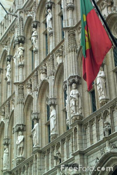 Picture of Grand Place - Grote Markt, Brussels, Belgium - Free Pictures - FreeFoto.com